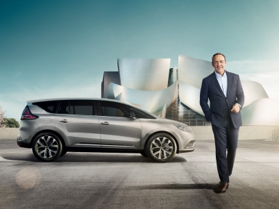 Nowe Renault Espace i Kevin Spacey