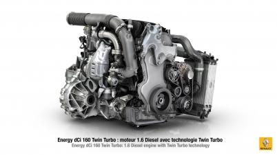 Nowy silnik 1.6 dCi Twin Turbo