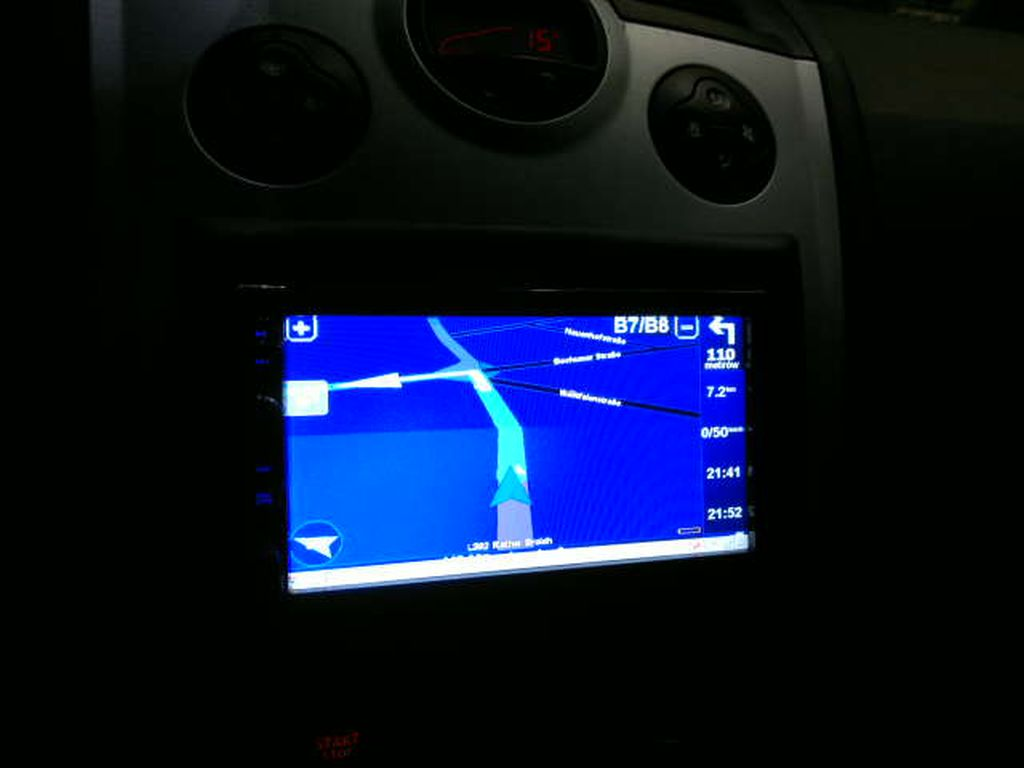 Megane Ii Phi Radio Dotykowe Nawigacja Car Audio Nagłośnienie